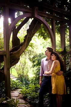 """On Georgetown's Dumbarton Oaks Park, """"It's one of the most unique locations in the area, especially for a romantic Secret Garden-like storybook feel. It's rarely busy, often different, but always perfect."""