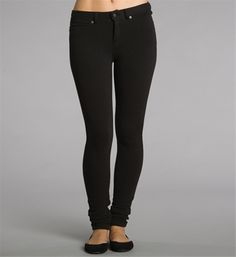 jeggings, with ballet slippers