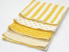 dish towels handmade