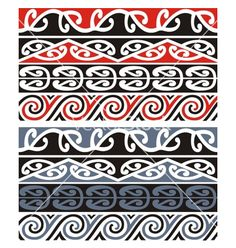 Maori Designs Vector Rikko 8