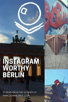 Instagram Worthy Berlin, Germany: Love travel? Love Instagram and/or photography? You'll love Berlin! Get 13 ideas to get you started on your next trip to Berlin including historic locations, rooftop views, food, bars and more that also functions as an introductory guide for a first trip to this dynamic city! via @downbubbletravels