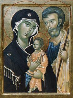 Lo Scriptorium - Laboratorio Iconografico Madonna And Child, Holy Family, Orthodox Icons, Sacred Art, Catholic, Religion, San, Belgrade, Painting