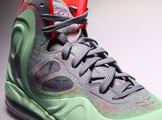 Nike Hyperposite - Mint - Grey - Red