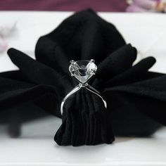 Complete your next upcoming wedding, anniversary, shower, or other special event with these silver plated diamond ring napkin holders! Each silver plated napkin holder comes resembling a diamond ring,. Diamond Wedding Rings, Diamond Rings, Diamond Engagement Rings, Diamond Party, Solitaire Ring, Diamond Theme, Diamond Wedding Theme, Diamond Life, Black Diamond