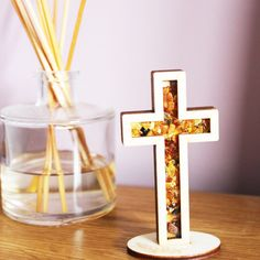 Easter is near. Beautiful handmade amber cross ornament - great addition to your home this Easter. Bring comfort, hope and peace this Easter to your place! Easter 2018, Religious Gifts, Amber Color, London Eye, Beautiful Gift Boxes, Baltic Amber, Made Of Wood, Special Gifts, Peace