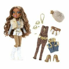 Bratz doll in super stylish party fashions. Celebrating 10 years of Bratz. Liv Dolls, Barbie Dolls, Dc Superhero Girls Dolls, Bratz Doll Outfits, Brat Doll, Bratz Girls, Hayden Williams, Guy, Monster High Dolls