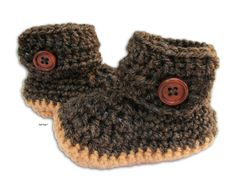 Baby crochet UGG booties for New born up to 6 months