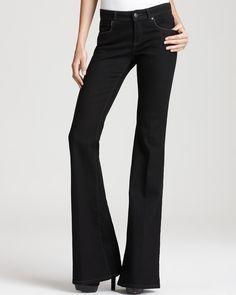 Rachel Zoe Jeans - Rachel Five Pocket in Black | Bloomingdale's