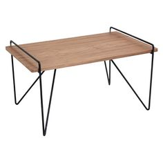 Loft Mid Century Modern Walnut Wood Coffee Table | Overstock.com Shopping - The Best Deals on Coffee, Sofa & End Tables