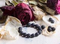 Used as rosary beads for centuries, rose petal beads also make great jewelry.