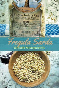 Fregola, die etwas andere Pasta-Spezialität aus Sardinien. Mit leichten Röstaromen und vielseitig einsetzbar.