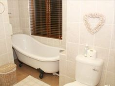 Colonial Guest house in Middelburg offers comfort and luxury while remaining affordable for many a traveller. Clawfoot Bathtub, Corner Bathtub, Colonial, Luxury, House, Corner Tub, Haus, Home, Homes