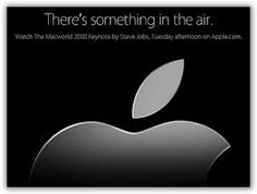 there something in the air - Apple Special Event 2008, Steve Jobs presentava il MacBook Air