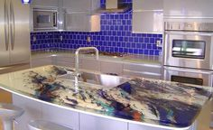 DIY Recycled Glass Countertops   My Daily Magazine   Art, Design, DIY,  Fashion And Beauty !