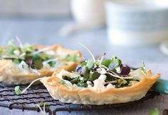 Sweet Paul's Herb Tart with Chevre #tart