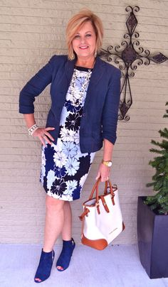 50 Is Not Old | Amazing Grace | Dress + Ankle Boots | Fashion over 40 for the everyday woman