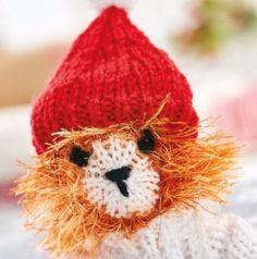 Bonus hat for Tom & Ronald - Free Knitting Patterns - Christmas - Let's Knit Magazine