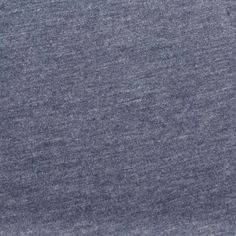 Heather Blue Solid Cotton Jersey Knit Fabric