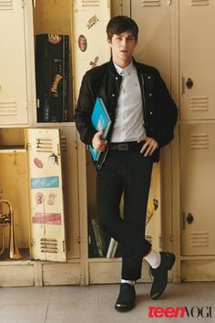 Logan Lerman, Lily Collins in Teen Vogue's Young Hollywood Issue 2010 | Teen Vogue