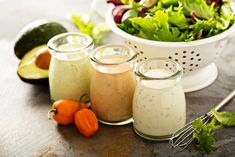 The Tasty Salad Dressing Recipe Trainers Swear By To Lose Weight - SHEfinds Lemon Vinaigrette Dressing, Salad Dressing Recipes, Salad Dressings, Salad Recipes, Easy Salads, Healthy Salads, Organic Recipes, Ethnic Recipes, Low Fat Yogurt