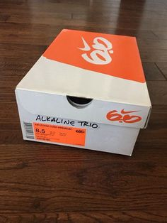 cheaper d7eda 82b41 Mens Sz 8.5 Nike Air 6.0 Alkaline Trio Edition Sneakers brand new still in  box