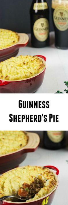 Guinness Shepherd's Pie   girlinthelittleredkitchen.com