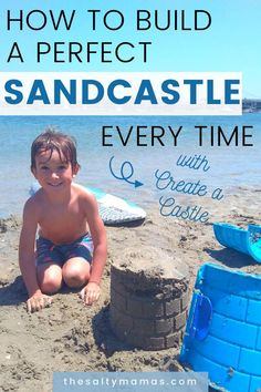 Do your kids LOVE sandcastles but hate disappointment? Ours too! Check out how we make PERFECT sand castles every time with Create a Castle! Free Activities For Kids, Motor Skills Activities, Sensory Activities, Infant Activities, Best Outdoor Toys, Outdoor Toys For Kids, Parenting Humor, Parenting Hacks, Potty Training Tips