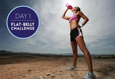 Flat-Belly Challenge Day 1: Fat-Blasting Intervals and a Slimming Smoothie