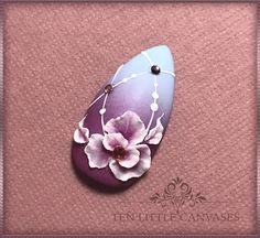 3D gel floral design