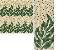 Tapestry Crochet Patterns, Fair Isle Knitting Patterns, Knitting Charts, Weaving Patterns, Knitting Stitches, Knitting Designs, Cross Stitch Designs, Cross Stitch Patterns, Punto Fair Isle