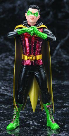 DC Comics Presents 6 Inch Statue Figure ArtFX Series 1/10 Scale - Robin (Damian Wayne) New 52 Version