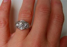 Diamond Engagement Ring From Great Gatsby 39