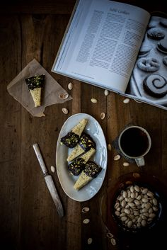 Local Milk | Chocolate-Dipped Pistachio Shortbread + A Giveaway