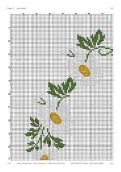 Cross Stitch Designs, Cross Stitch Patterns, Cross Stitch Embroidery, Needlework, Floral, Artwork, Cross Stitch Flowers, Daisies, Pink Blossom