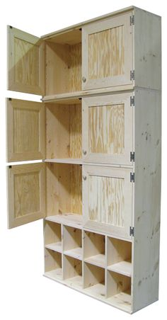 Sawdust City LLC   CUSTOM   Unfinished Cabinets
