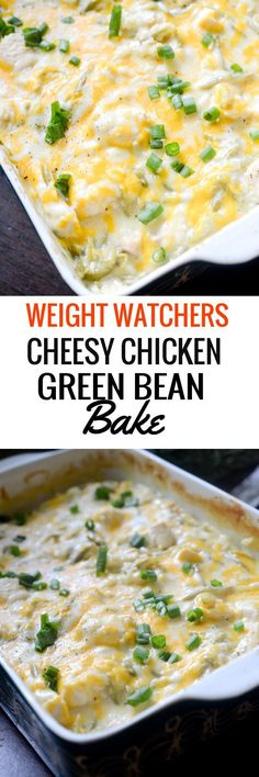 Weight Watchers Cheesy Chicken Green Bake - Recipe Diaries
