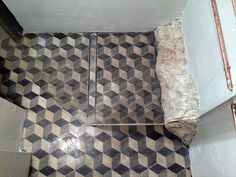 Bath Mat, Tile Floor, Flooring, Rugs, Crafts, House, Home Decor, Farmhouse Rugs, Manualidades