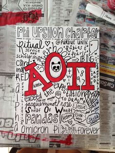 Alpha omicron pi #canvas #crafting #aoii #alphalove #sorority #biglittle #gifts #tsm