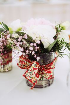 table flowers decoration