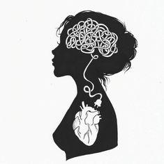 couple of drawings coal # - Art And Illustration, Pencil Art Drawings, Art Sketches, Kritzelei Tattoo, Tattoos, Anatomy Art, Heart Art, Art Inspo, Line Art