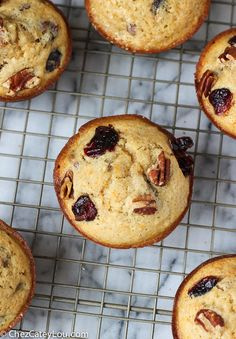 These Orange Pecan Cranberry Muffins are the perfect thing to serve for breakfast on Thanksgiving! The flavors are perfect for fall, and they are simple to make! Recipes Using Fruit, Cranberry Muffins, Muffin Tins, Recipe Using, Fall Recipes, Pecan, Breads, Cakes, Orange