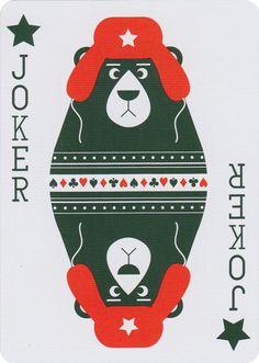 Russian Folk Art Playing Cards