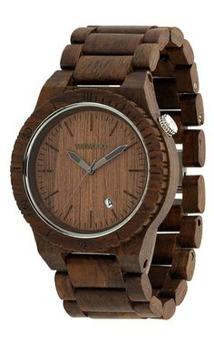 Beta Chocolate | WeWOOD Wooden Watches