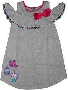 eb113db9cee137 Amazon.com  Nickelodeon Jojo Siwa Jojo Siwa Cold Shoulder Dress 4-6x (6)   Home   Kitchen
