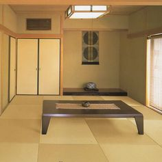 Would love to have a tatami room in our house wherever we are. It's so calming and most of all it's cool to sit on in the summer and warm in the winter...