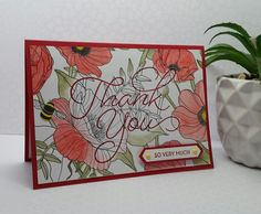 Stampin' Up! Demonstrator stampwithpeg : Sale-a-bration Wednesday, Say Thank You Inside the Lines!