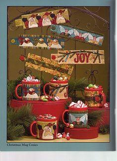 art to heart I Believe - rosotali roso - Álbumes web de Picasa Christmas Mug Rugs, Christmas Books, Country Christmas, Christmas Crafts, Christmas Decorations, Christmas Ornaments, Christmas 2019, Christmas Ideas, Christmas Quilting