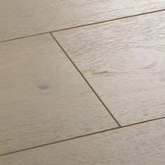 Sandy Oak flooring from the Salcombe collection is a vision of hazy white with a tinge of rose pink and subtle cocoa grains. Engineered for stability. Wood, Engineered Wood, Wood Floors, Underfloor Heating Systems, Natural Wood, Natural Wood Flooring, Flooring, Oak, Water Heating Systems
