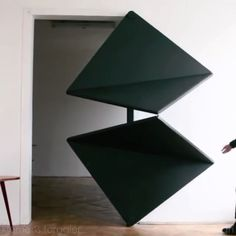 """Klemens Torggler's doors are kinetic art objects based on rotating squares. The first door is…»"