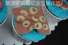 https://www.facebook.com/RollRollKelly #Doraemon cake #小叮噹蛋糕 # Doraemon cupcake #1st birthday cake